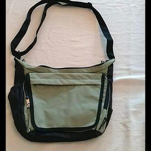 Eddie bauer cross body sage green purse